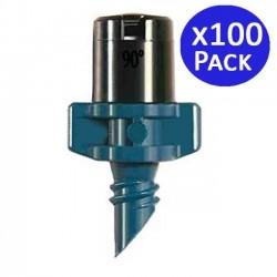 Microaspersor de riego Aquila 90º 2-2,8 mts. 100 unidades