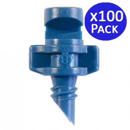 360º irrigation micro sprinkler 1-1.2 meters. 100 units