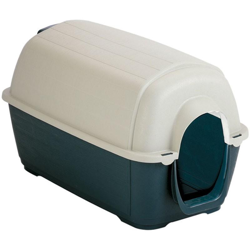 Caseta de plástico para perro modelo Lugo