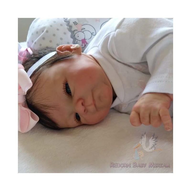 Reborn Coco Malú elaborado por Reborn Baby Miriam