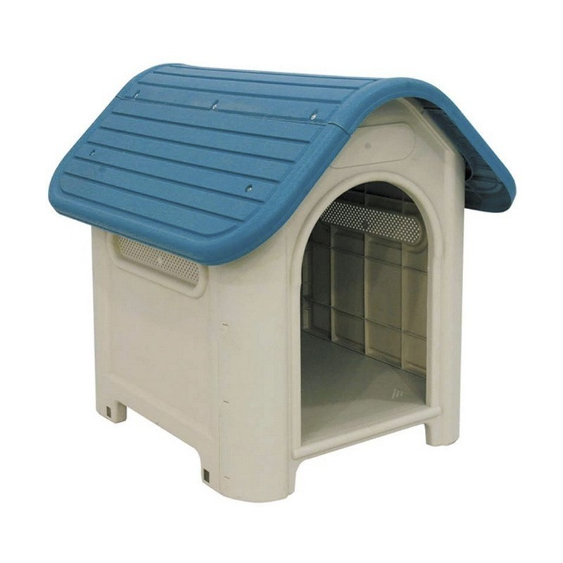 Caseta de plástico para perro modelo Huelva 59x75x66 cm