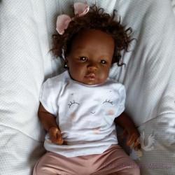 Reborn Shyann Birracial elaborado por Reborn Baby Miriam