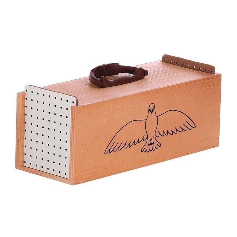 Transportin madera palomas 2 departamentos