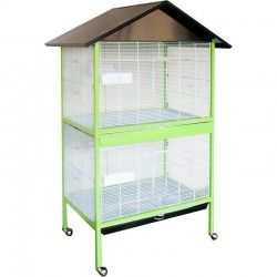 Aviary Venice 90x60x175 cm with 2 compartments
