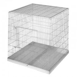 Parrot exhibition cage 98x95x101 cm