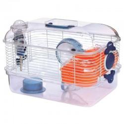 Jaula hamster transparente