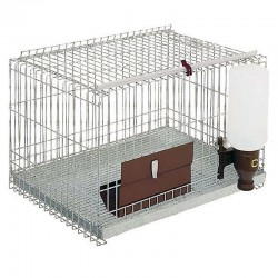 Rodent cage 1 department with legs
