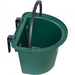 Plastic horse feeder for hanging 8 liters