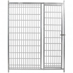 Front for Boxes with dog door and mesh