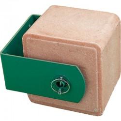 Salt stone support