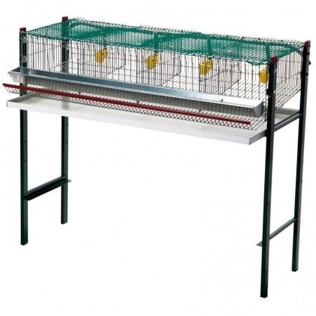 Quail battery cage 4 departments 105x47x90 cm
