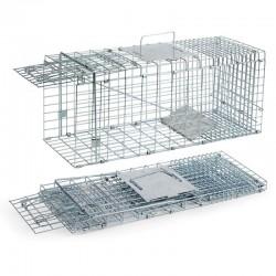 Jaula captura roedores mediana 24 x 64 x 26 cm