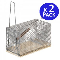 Large mousetrap 12 x 28.5 x 14 cm. 2 units