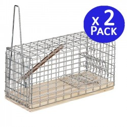 Large mousetrap 9,5 x 20 x 10,5 cm. 2 units