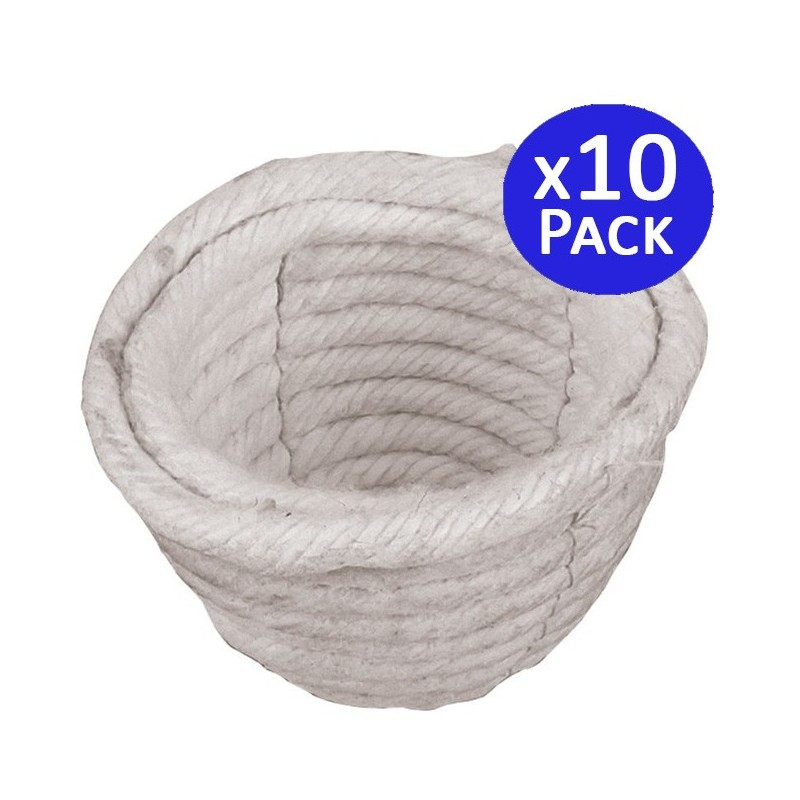 10 Nidos de algodón para pájaros