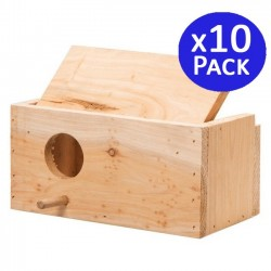 Wooden bird cage size S. 10 units