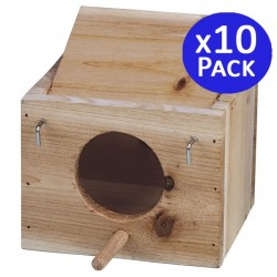 XS wooden bird cage. 10 units