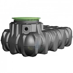 Shallow polyethylene tank 1500 liters