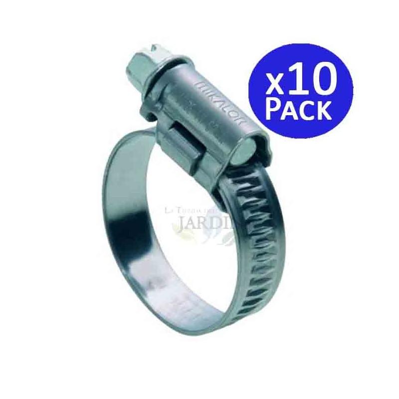 Metal clamp Ø 12 - 20 mm. 10 units