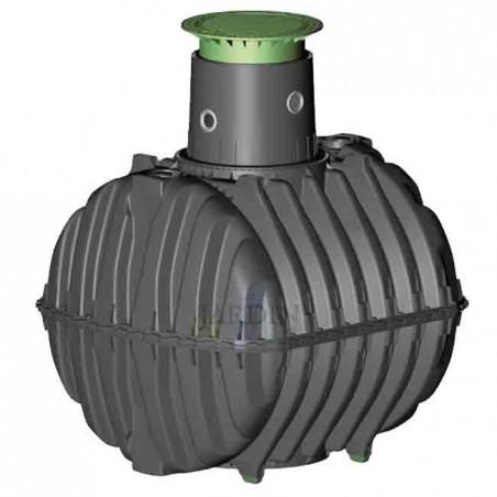 Underground polyethylene tank 2700 liters