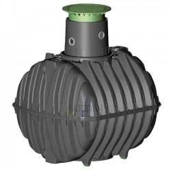 Underground polyethylene tank 6500 liters