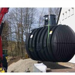 Underground polyethylene tank 8500 liters