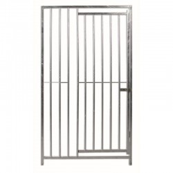 Front for Boxes with 8cm separation bars with dog door