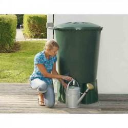 Depósito de agua de lluvia redondo 300 litros