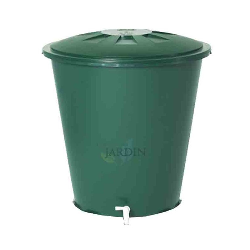Depósito polipropileno de agua de lluvia redondo 300 litros