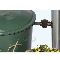 Depósito de agua de lluvia redondo 500 litros