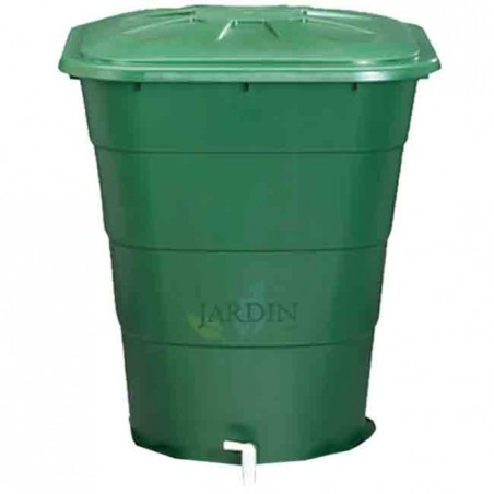 Depósito de agua de lluvia rectangular 200 litros