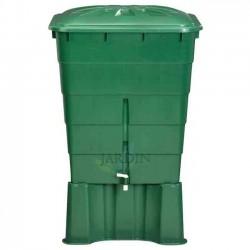 Depósito de agua de lluvia rectangular 300 litros + Base