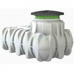 Underground polyethylene tank 1500 liters drinking water