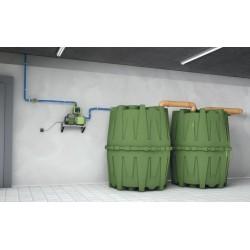 Polypropylene rainwater tank 1600 liters