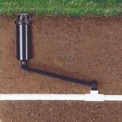 """Codo articulado 15cm 1/2"""" para instalación de aspersores"""
