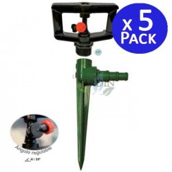 "Kit Sprinkler low flow 360º 1/2 ""+ Support. 10 units"