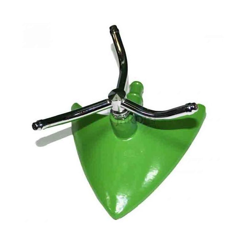 Aspersor giratorio 3 brazos aluminio, Alcance 4 a 7 mts