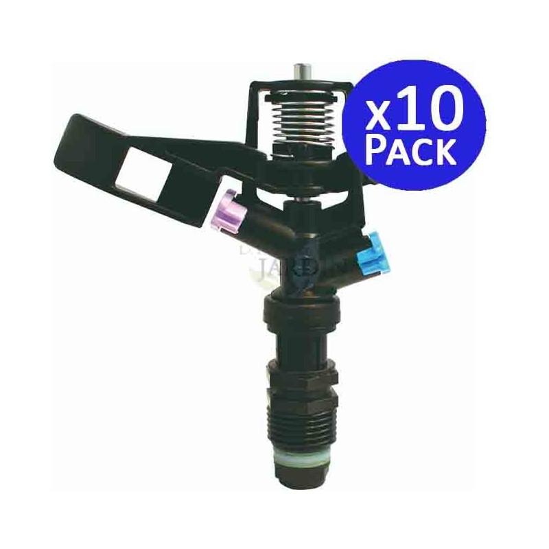 """1/2 """"circular agricultural sprinkler, 10,5 to 12 meters. 10 units"""