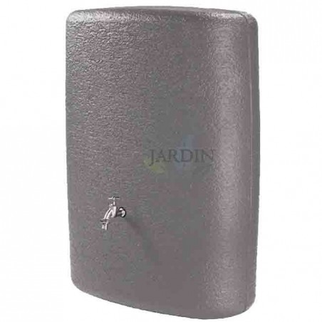 Depósito exterior de diseño 275 litros 80x40x105 cm gris