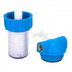 Vaso contenedor con filtro de polifosfatos para calentadores