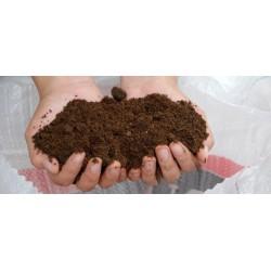 Abono orgánico Humus de lombriz. 25 Litros