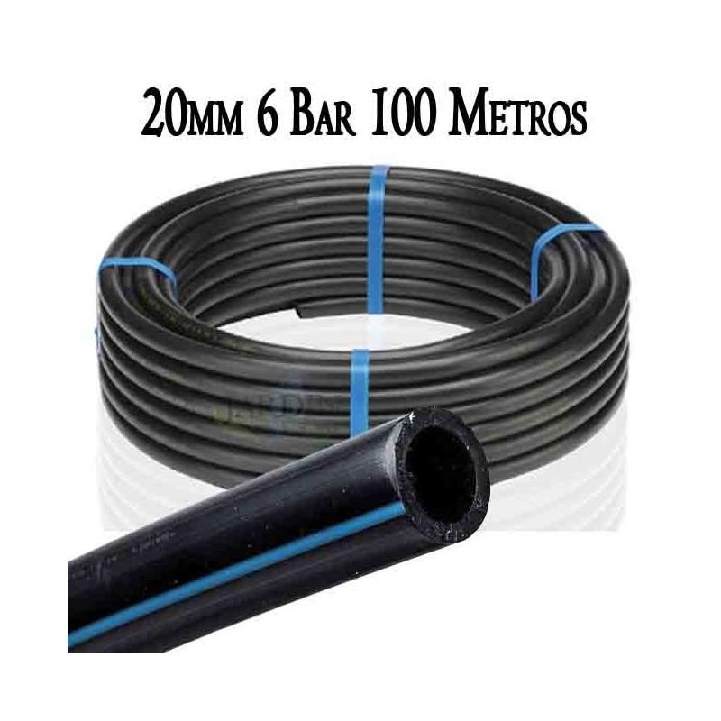 Low density food pipe 20mm 6bar 100mts