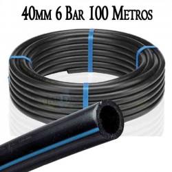 Tuberia Alimentaria baja densidad 40mm 6bar 100mts