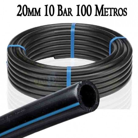 Tuberia Alimentaria baja densidad 20mm 10bar 100mts