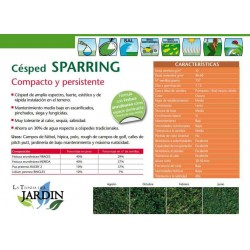 Seeds lawn Sparring Fito 5 Kg compact and resistant