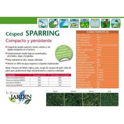 Semillas césped Sparring Fito 25 Kg compacto y resistente