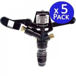 "3/4 ""circular sprinkler brass nozzle, 13 to 18 meters. 5 units"