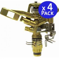 "3/4 ""brass sector sprinkler, 12 to 19 meters. 4 units"