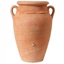Terracotta water tank Anfora 360 liters