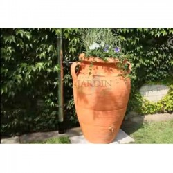 Terracotta water tank Anfora 600 liters